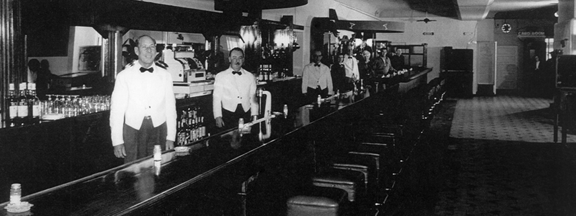 The Stag Bar a long time ago