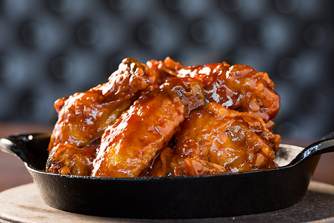 Try Stag Bar's Sweet Chili Wings