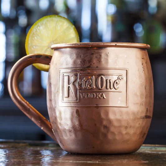 Try Stag Bar's Peach Mule