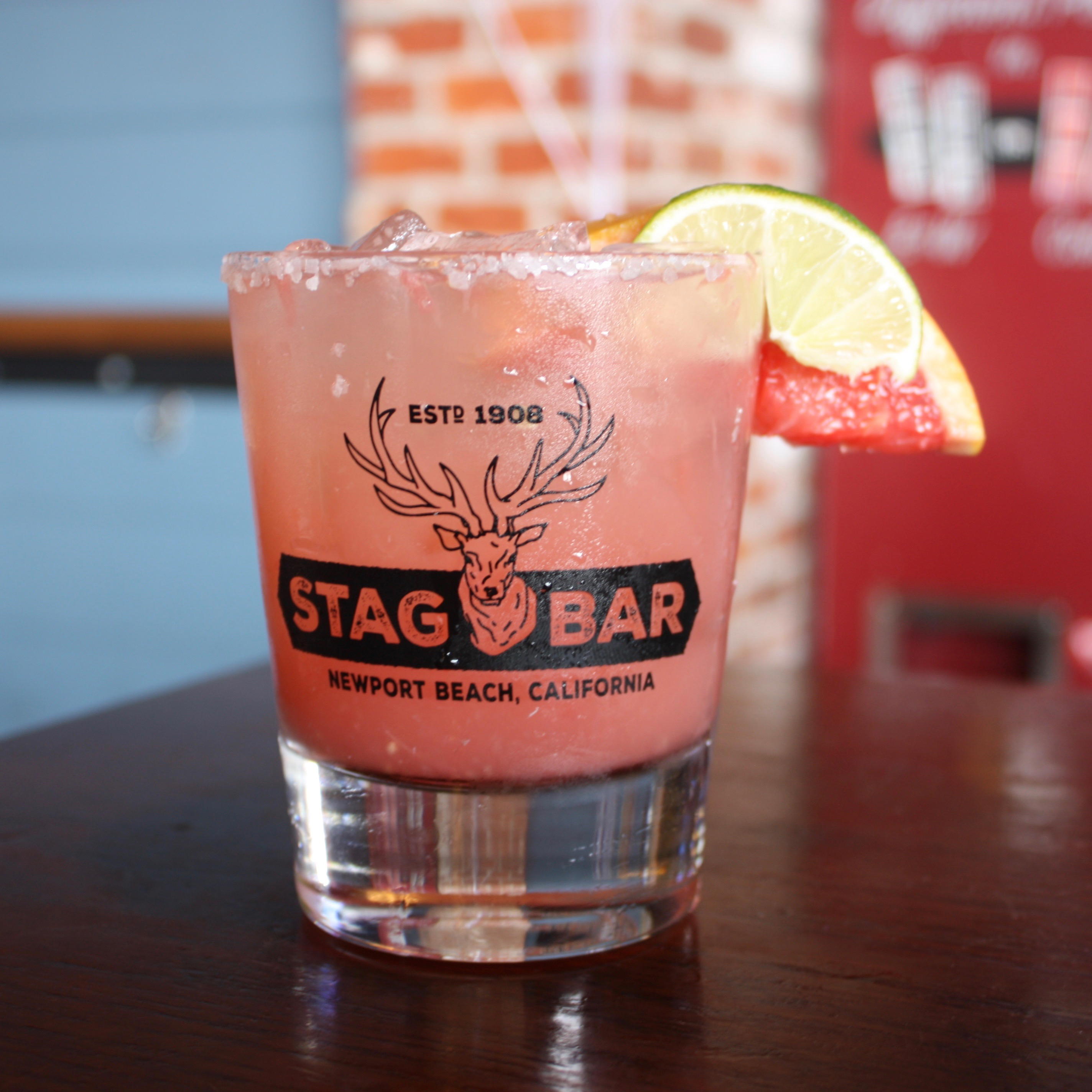Try Stag Bar's Salty Dog