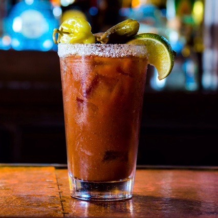 Try Stag Bar's Stag Bloody Mary