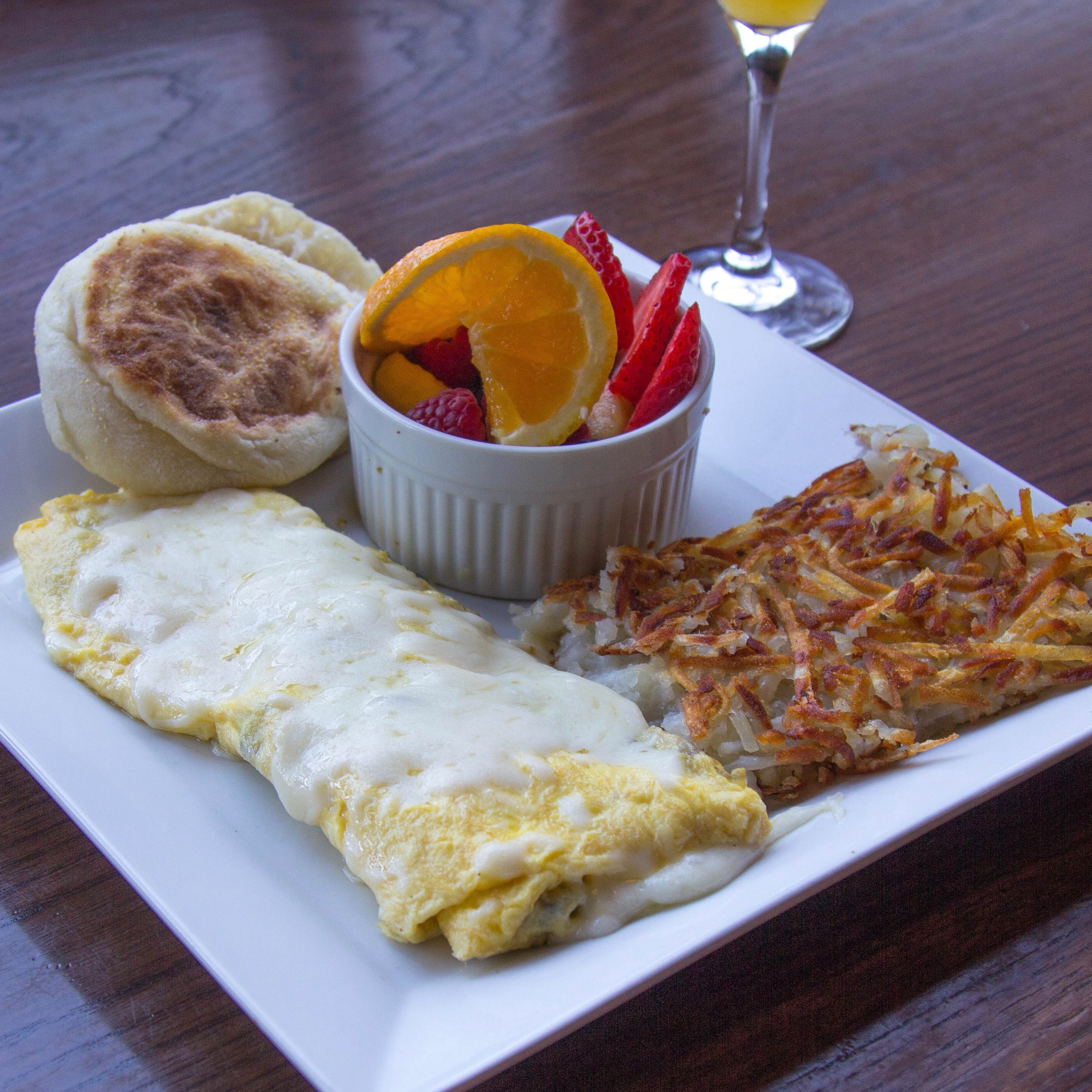 Try Stag Bar's Abe Froman The Omelette King of Newport