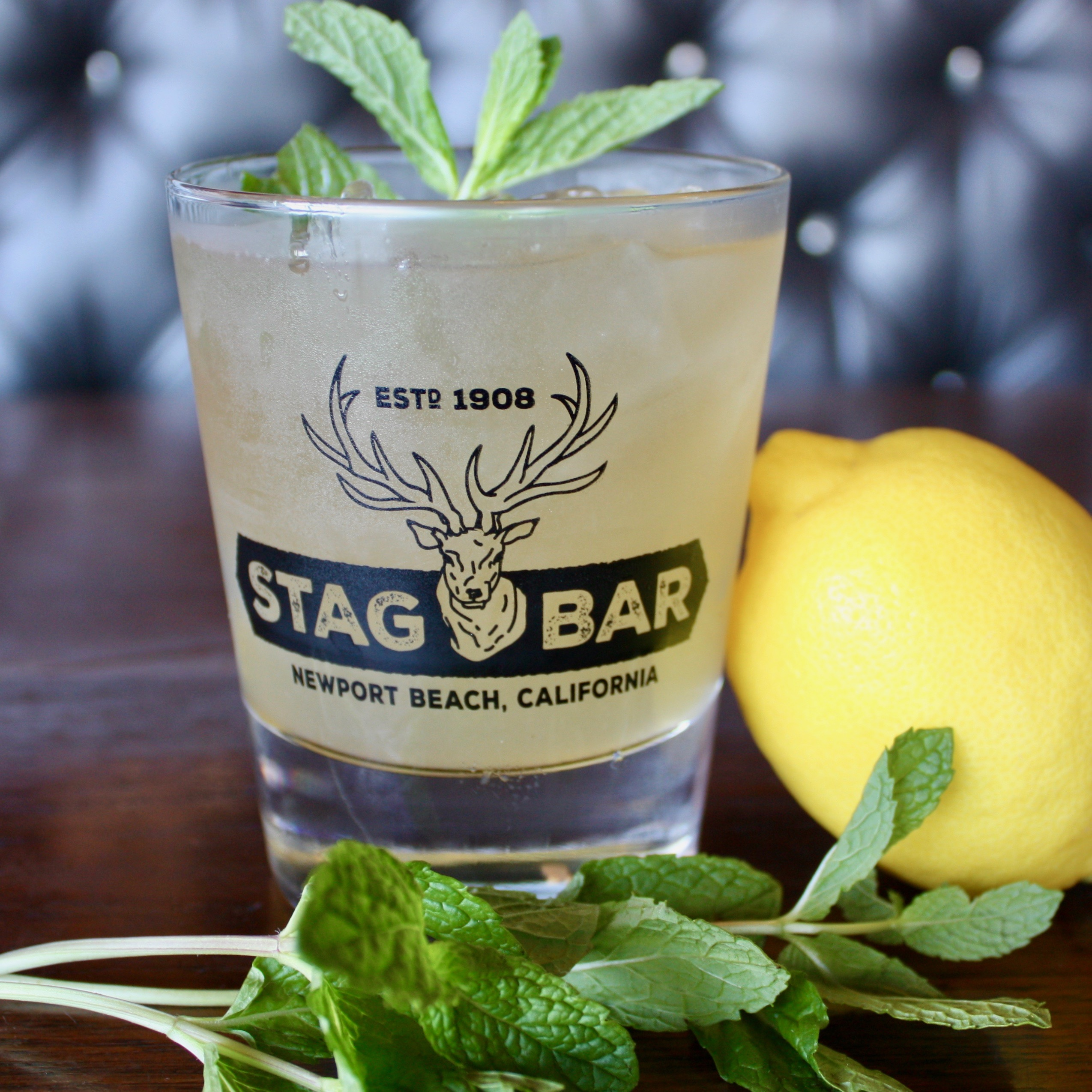 Try Stag Bar's Whiskey Lemonade