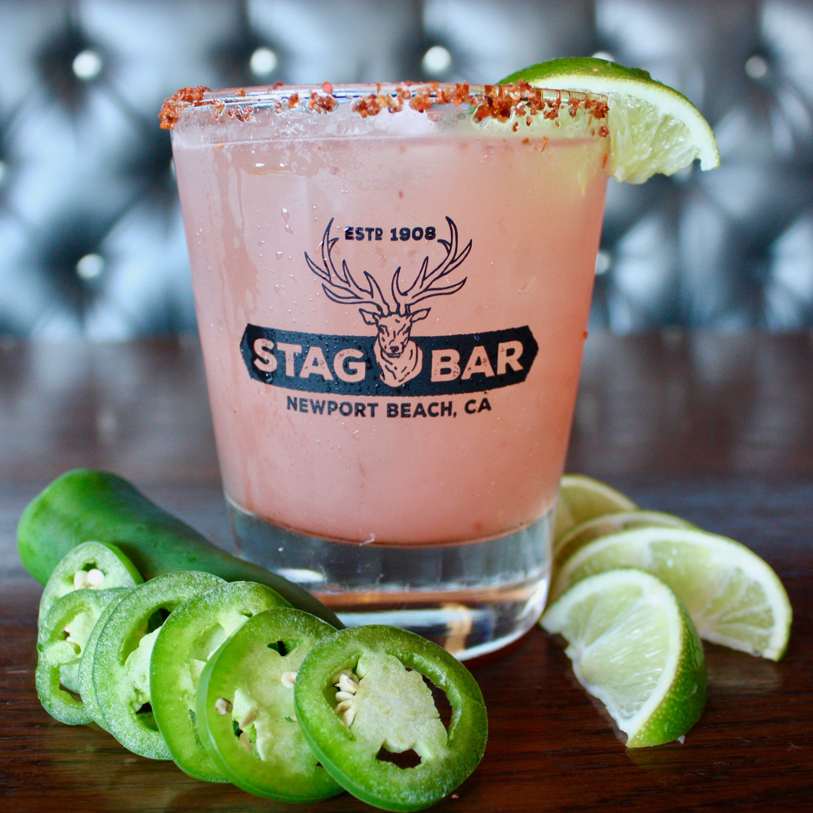 Try Stag Bar's Watermelon Jalapeño Margarita
