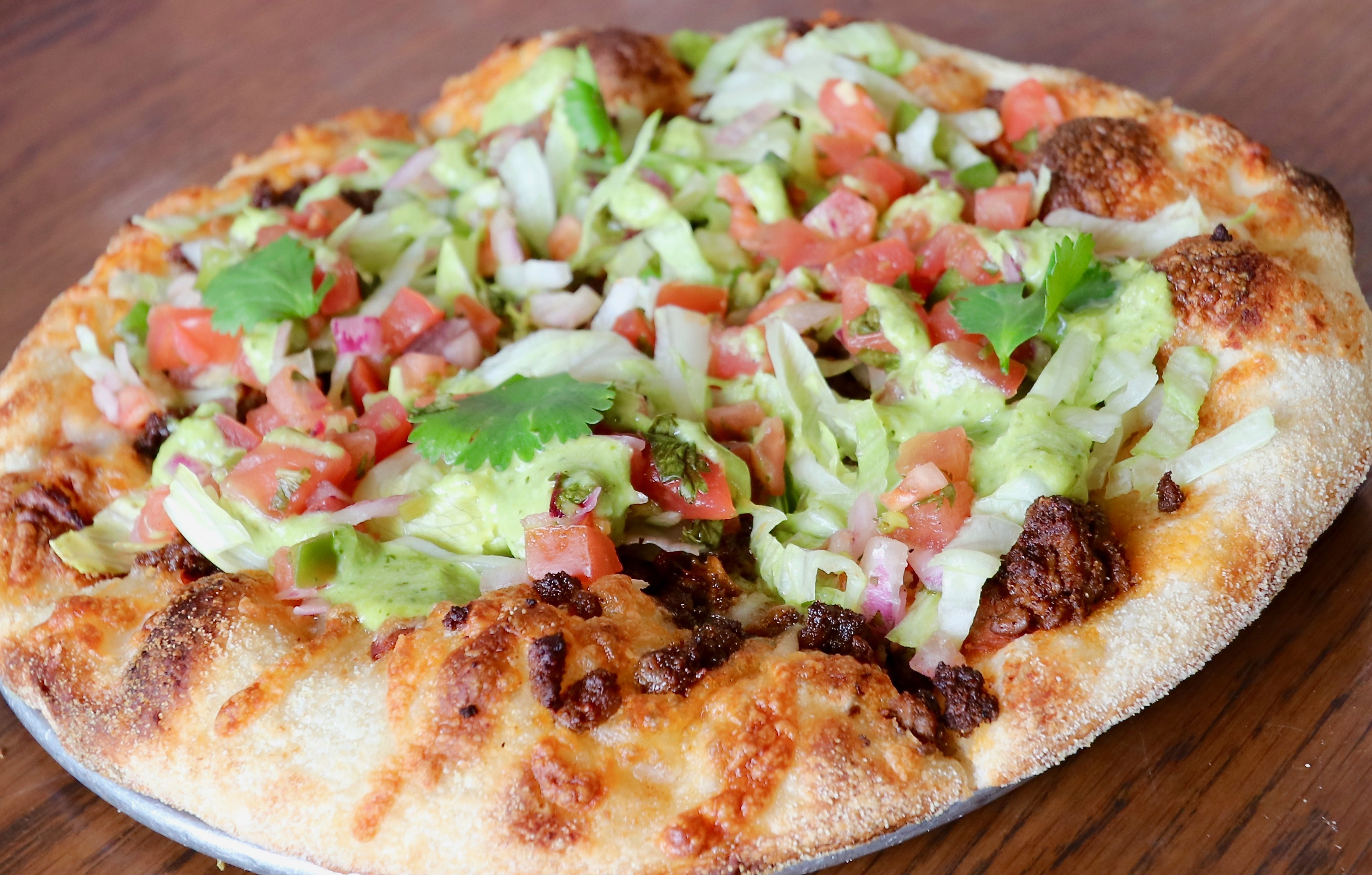 Try Stag Bar's Mexican Pizza