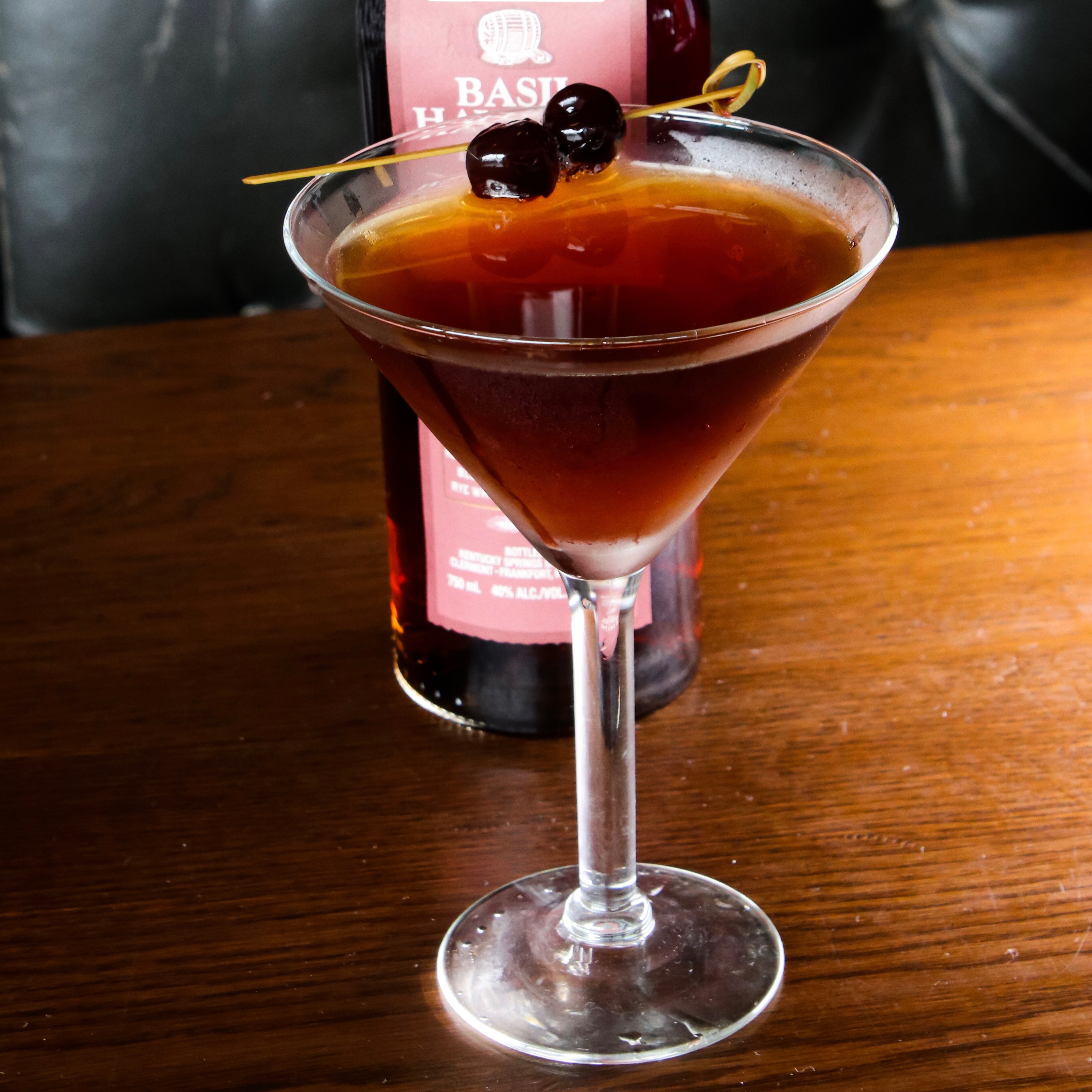 Try Stag Bar's Manhattan
