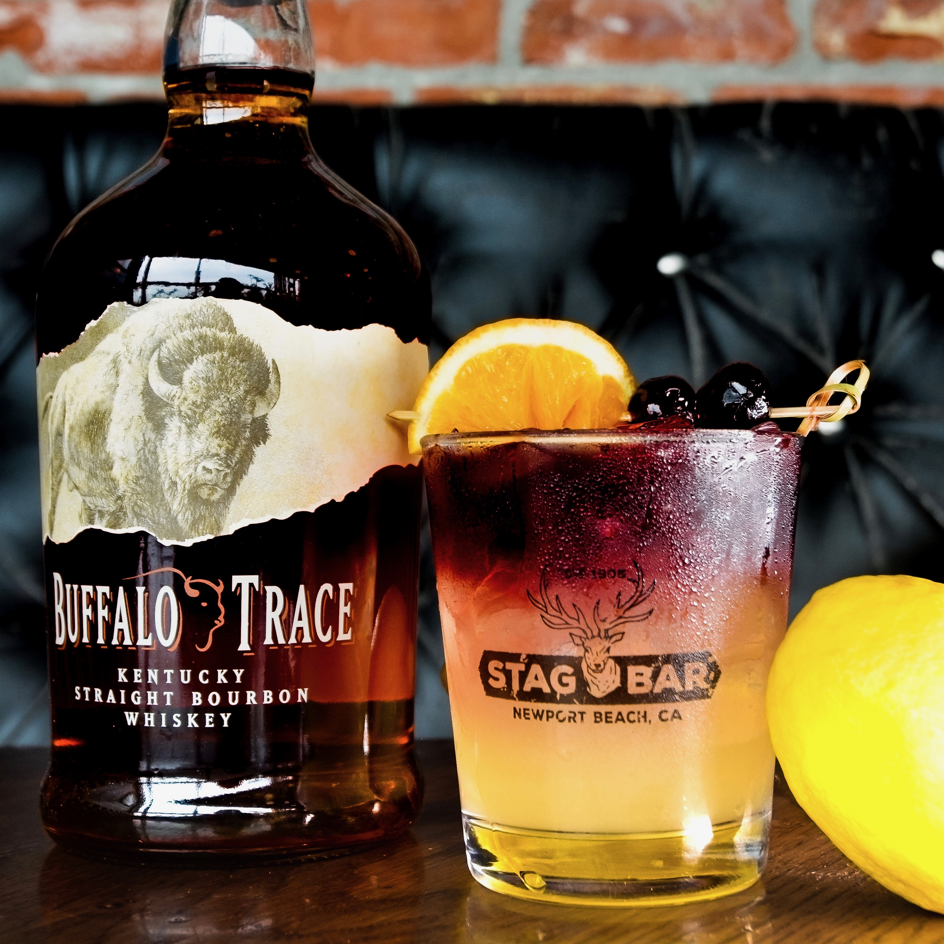 Try Stag Bar's New York Sour