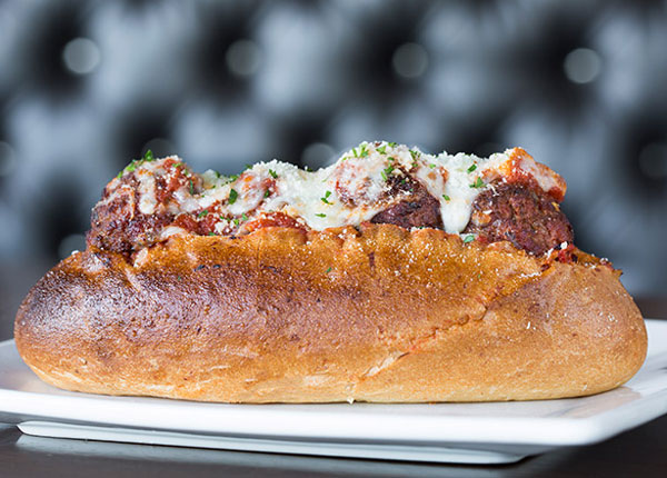 Try Stag Bar's Meatball Sub