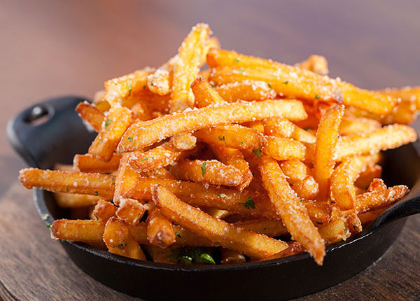 Try Stag Bar's Truffle Fries