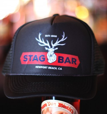 Stag Bar Hat - Charcoal Gray