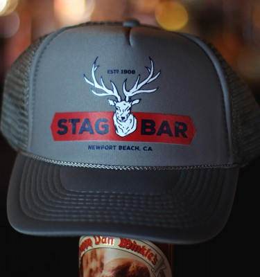 Stag Bar Hat - Gray