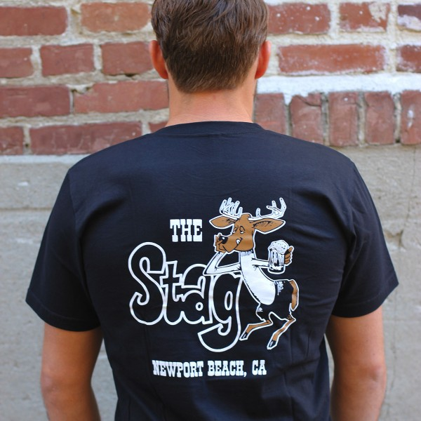 Stag Bar - Men's T-Shirt