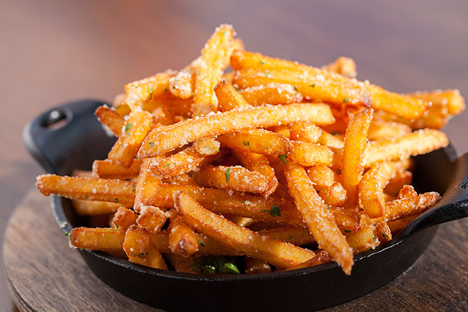 Try Stag Bar's Fries