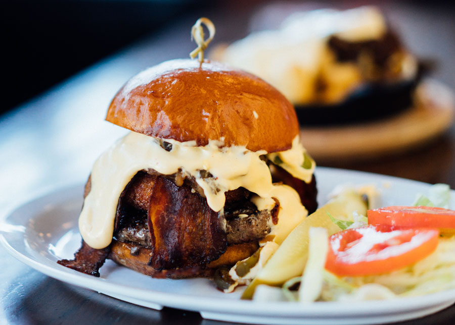 Try Stag Bar's The Pretty Ridiculous Burger